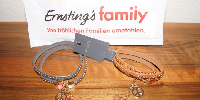 Meine neuen Schätzchen! Armbänder von Ernstigs Family