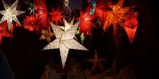 leuchtende-Weihnachtssterne
