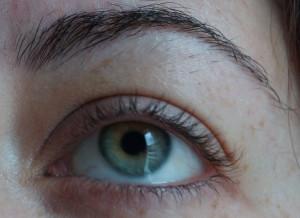 Wimpernaufschlag ohne Mascara