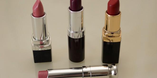 Lippenstiftfarben