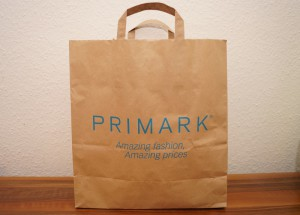 Primark-Tüte