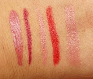 verschiedene-Lippenfarben