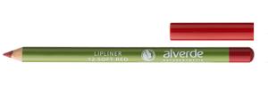 alverde lipliner 12 soft red