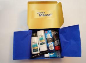 Danke Mama Box geoeffnet