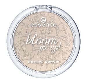 Essence Shimmer Puder Bloom me up!