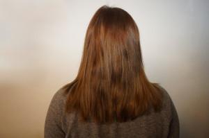 Haare vor Extentions