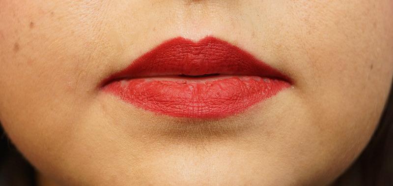 Lippen mit Lipliner