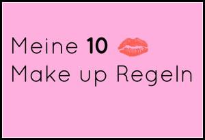 10 Make-up Regeln