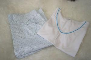 Schlafanzug ausgepackt Skin to Skin