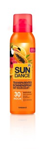 Transparentes Sonnenspray Tropicduft