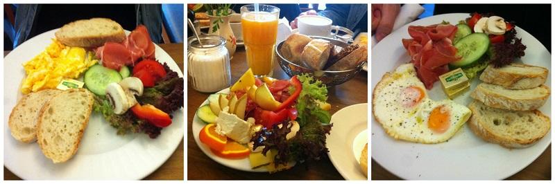 Leckers Osterfrühstück im Cafe Kaiserbau am Marienplatz in Stuttgart