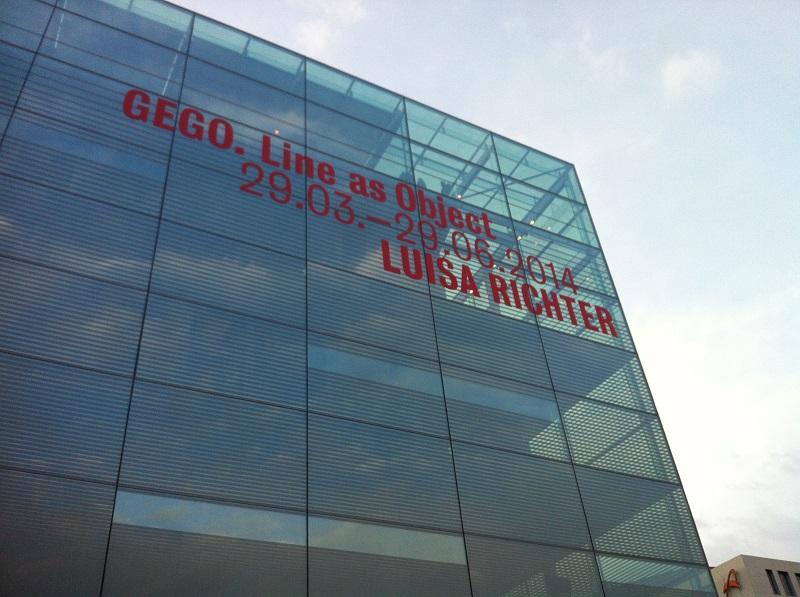 Im Kunstmuseum läuft momentan eine Doppelausstellung GEGO & Luise Richter