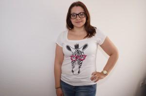 Likoli Shirt Zebra Motiv