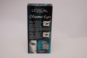 L'Oreal Anleitung für Glamour Eyes