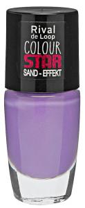 Rival de Loop Colour Star Sand Effekt Nagellack Lavender Star