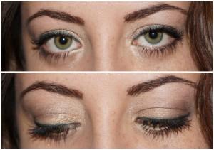 Augen Make Up grüne Augen