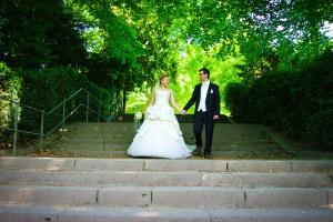 Hochzeitsshooting im Schlosspark Benrath-daydiva