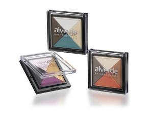 alverde colourful Quattro Eyeshadow