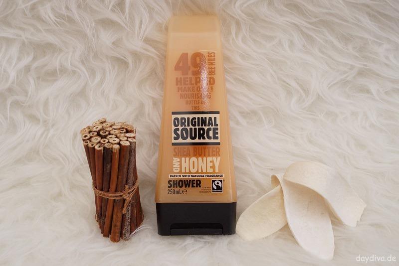 Original Source Duschgel Shea Butter und Honig
