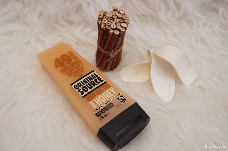 Verpackung Original Source natürliche Duschgels