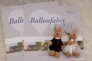 Ballonfahrt Gutscheine zum Hochzeitstag