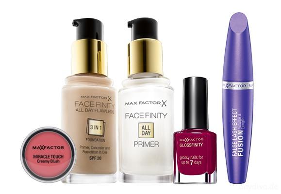 MaxFactor-creamy-blush-foundation-primer-nagellack-und-Wimperntusche - Beauty Und Fashion Blog