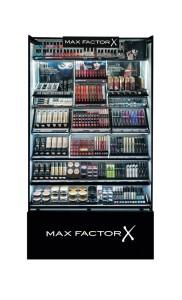 Max Factor Theke im neuen Design