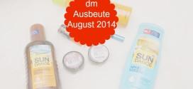 dm Ausbeute August 2014