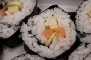 Maki Sushi selbstgemacht