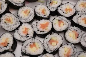 Auswahl Sushi