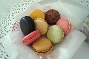 Macarons von Laduree Paris