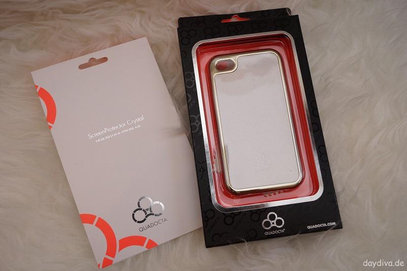 Quadocta iPhone 4 Handyhülle und Displayschutz