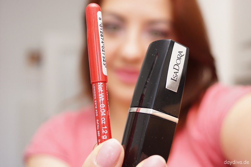 Rimmel London Lip Liner Lippenstift Isadora Coral Cream
