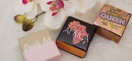w7 Blushauswahl Double Art, Afrika und The Honey Queen
