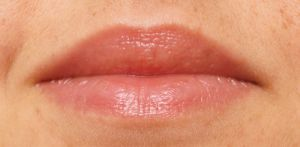Catrice Lip Balm aufgetragen