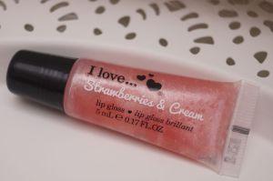 I Love Strawberrys Lip Gloss