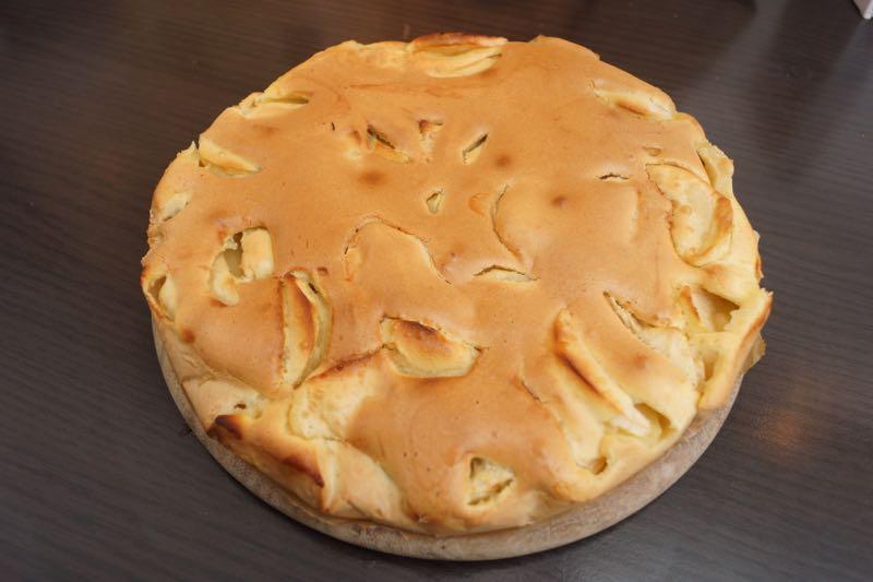 selbstgemachter Apfelkuchen