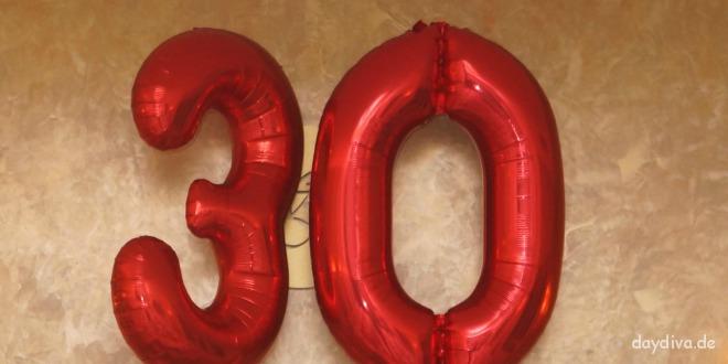 Mein 30. Geburtstag