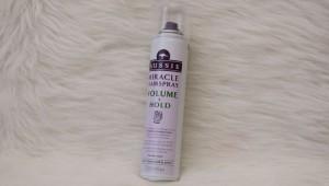 Aussie Miracle Haarspray Volumen und Halt