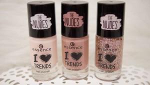 Nagellack Auswahl essence I Love Nude