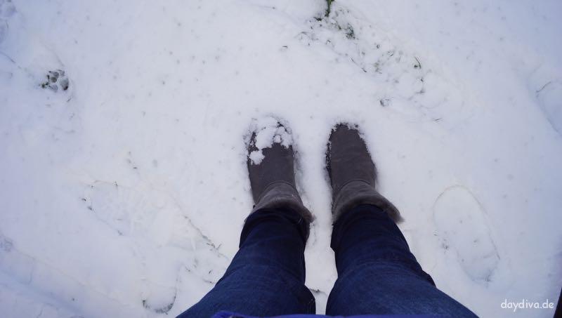 UGG Boots im Schnee