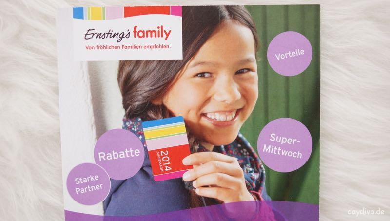 Jahreskarte 2015 Ernsting's family