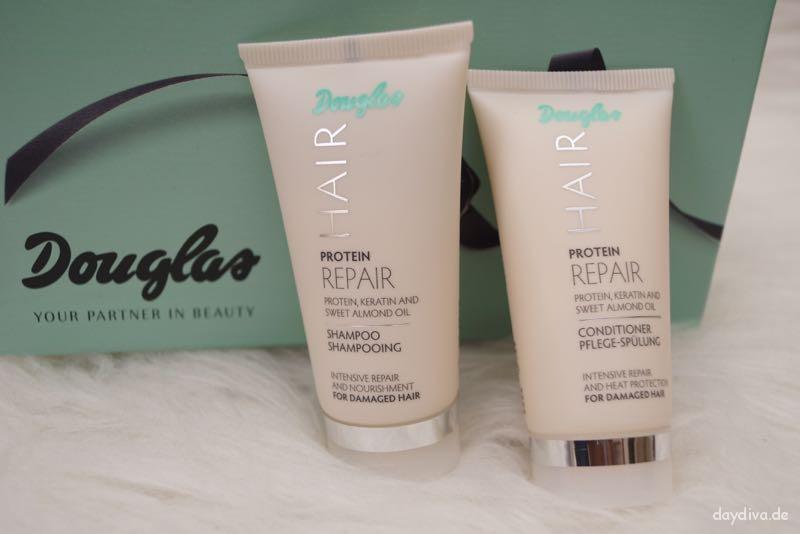 Protein Shampoo und Pflege-Spülung  von Douglas Hair