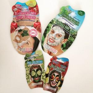 Kleine Auswahl an Gesichtsmasken von Montagne Jeunesse