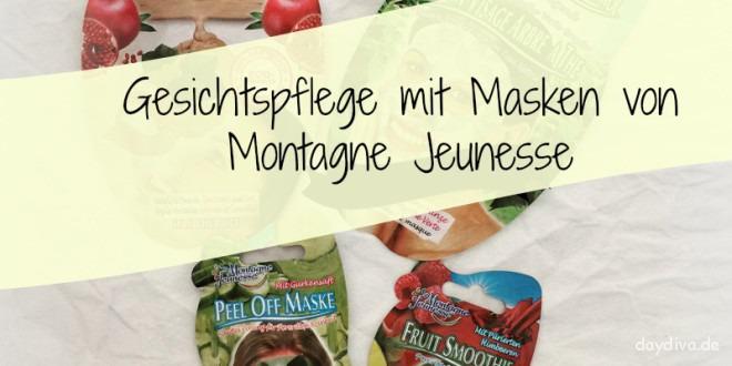 Gesichtsmasken von Montagne Jeunesse