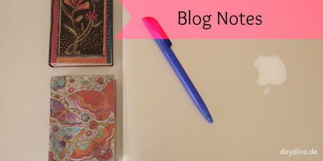 Bloggernotizbuch online oder auf Papier