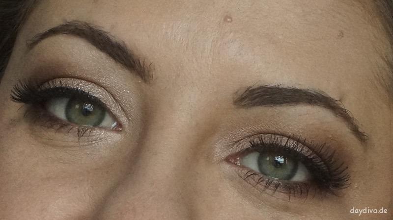 Augenmakeup mit Fünferpalette in der Farbe 796 Cuir Cannage von Dior