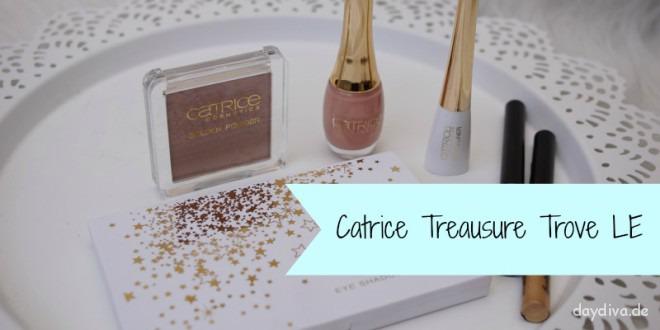 Produkte der Catrice Treasure Trove LE