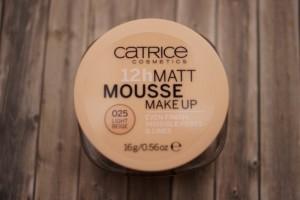 catrice 12h matt mousse makeup 025 light beige