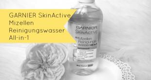 Garnier SkinActive Mizellen Reinigungswasser All-in-1 NEU
